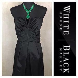 WHBM | Strapless LBD | Black | 12